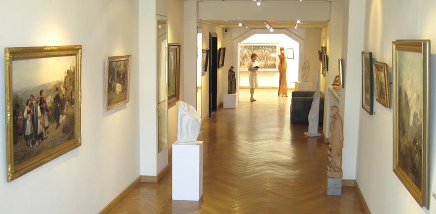 Galerie-Innen-Tierausstellung