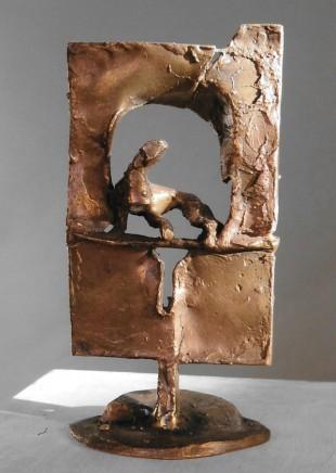 "Baldur Geipel: ""Lebensraum 1"" Bronze"